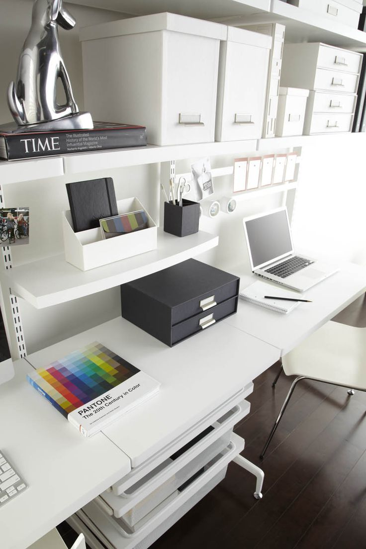 100+ best elfa Office images on Pinterest | Cubicles, Home office ...