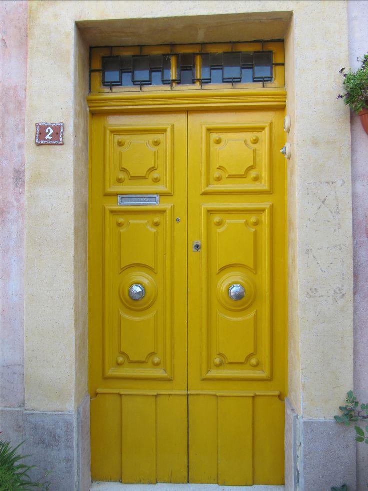 Nice yellow door at Rabat, Malta