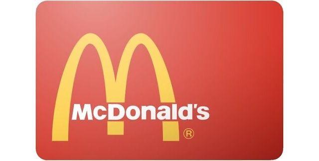 $50 McDonald's Gift Card For $46 $46.00 (ebay.com)