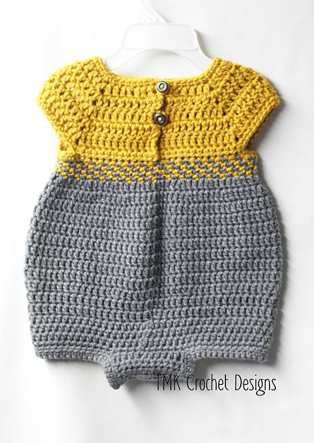 Ravelry: Baby Romper Outfit pattern by Jennifer Lynas