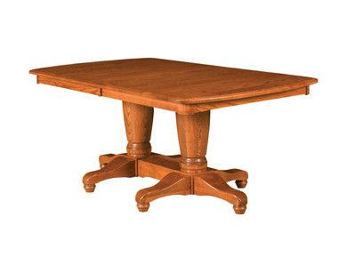 Raber Double Pedestal Table