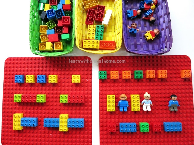 "Learning Patterns with Lego ("",)"