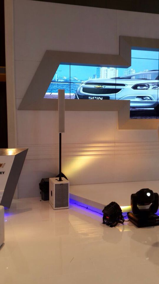 #HKaudio #elements easy base Chevrolet promotion booth #medan #indonesia