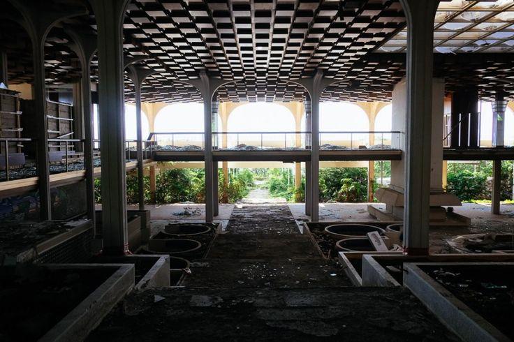 Inside the abandoned palace of Penthouse Magazine in Croatia