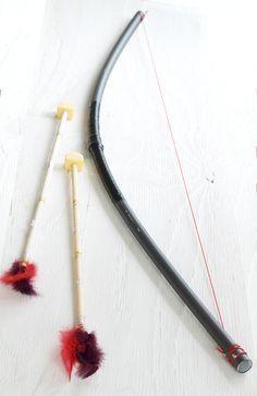 indianerparty - Indianer Pfeil und Bogen selber bauen