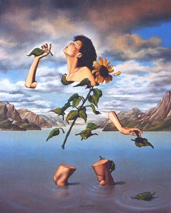 Jose Roosevelt surrealist painting