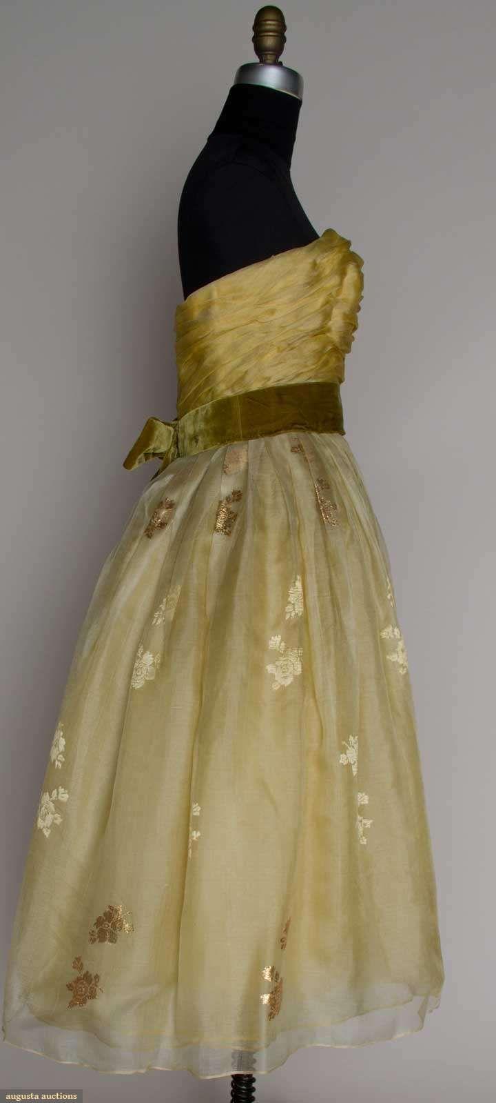 JACQUES HEIM PARTY DRESS, c. 1958
