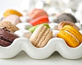 24 Assorted Regular French Macarons - Perfect for tea time. $27.60, via Etsy.