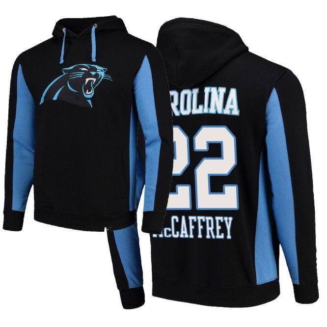 2dd0c640 Carolina Panthers Team Iconic Christian McCaffrey Hoodie | Carolina ...