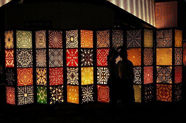 Cutout lanterns. : R & M