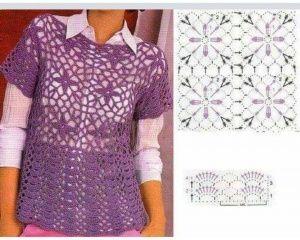 Wzory na szydełko nową kobietę część 154 | | Wzory na szydełko i piękne wzory dziewiarskie