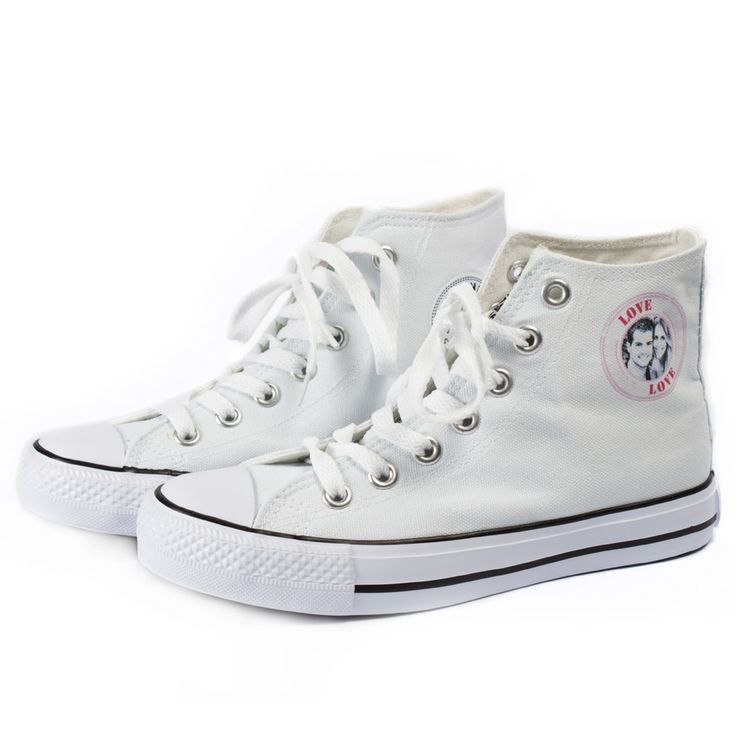 Lovely sneakers with your picture as logo. £21.95