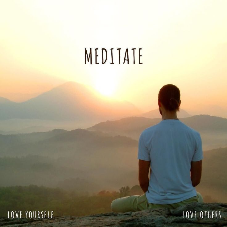 As a consistent meditation practice will help trains your mind to stay in the present moment it will ripple strength in your ability to stay centered in self-love. Love yourself 10 minutes a day to sit in silence and be mindful of the present.Perhaps the easiest way to do this is continually refocus on your in and out breathe.  Meditation is a surrender. It is not a demand. It is not forcing existence your way. It is relaxing into the way existence wants you to be. Its a letgo. -Osho…