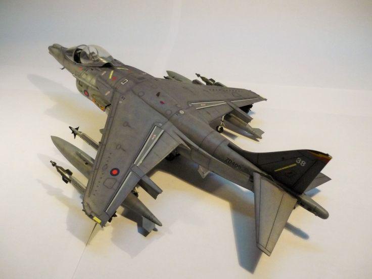 British Aerospace Harrier GR7 1/48