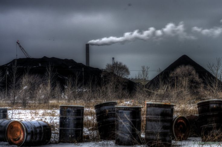Abstract Creation: Milwaukee Industrial Landscape