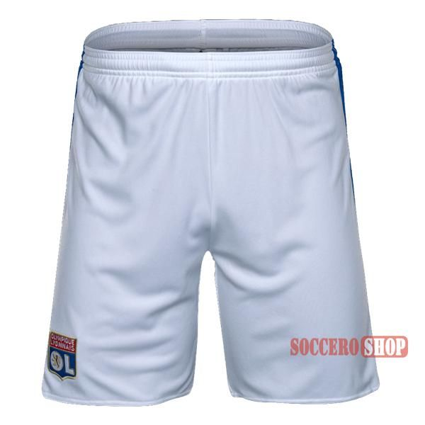 Special Offer: A+ Quality Olympique Lyon White Soccer Shorts 2016-2017 Home | Soccero-Shop