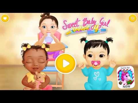 Barbie Games   Sweet Baby Girl Daycare 4   Games for girls to play