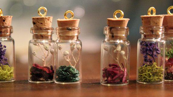 Fairy Tree  Mini Terrarium Necklace by WildastheWind on Etsy