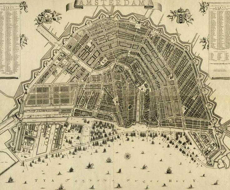 plattegrondamsterdamvangdebroen, 1725