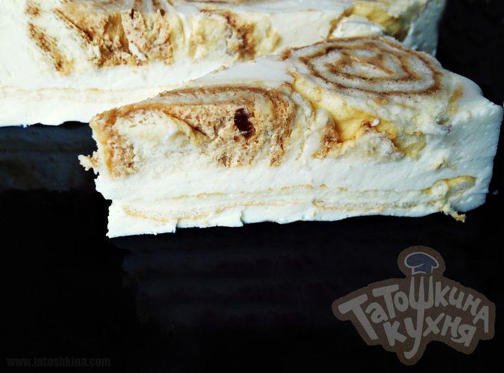 Рулетный торт по Дюкану «Бисквит и суфле» (без отрубей)