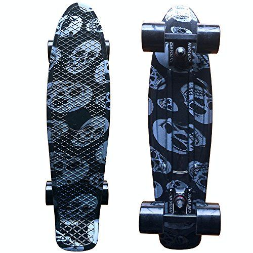 Special Offers - Focus Boards Plastic Skateboard Urban Cruiser Complete Purple Galaxy Graphic (Silver skull) - In stock & Free Shipping. You can save more money! Check It (July 21 2016 at 09:34AM) >> http://kidsscooterusa.net/focus-boards-plastic-skateboard-urban-cruiser-complete-purple-galaxy-graphic-silver-skull/