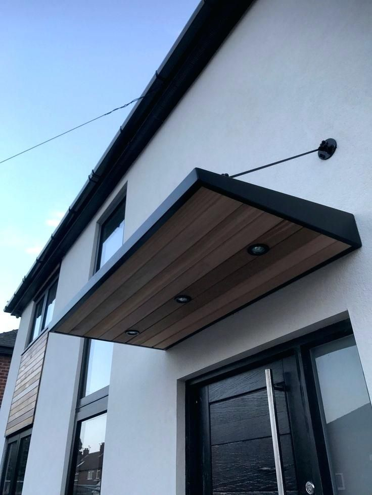 Modern Door Awning Best Front Canopy Ideas On Designs Awnings Metal Door Canopy Front Door Canopy Door Canopy