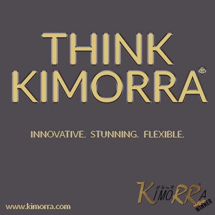 """9 Likes, 1 Comments - Changing The Face (@ctfoc) on Instagram: """"We don't know about #TuesdayThoughts 'think Kimorra®' is our daily mantra. It's durable,flexible…"""""""