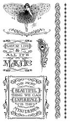 Midnight Masquerade Stamp Set 3