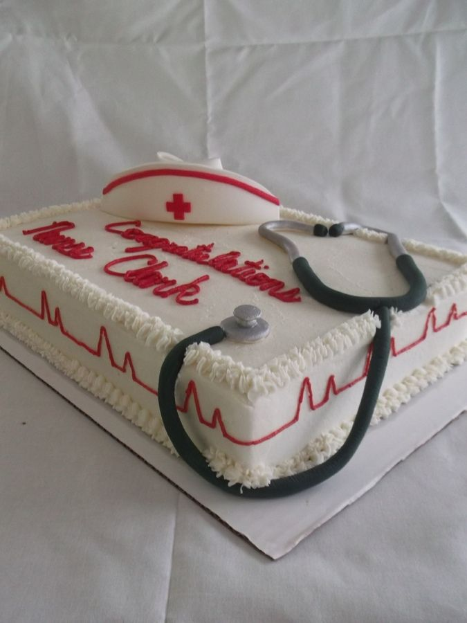 Cake Decorations For Nurses : Best 25+ Nursing graduation cakes ideas on Pinterest ...