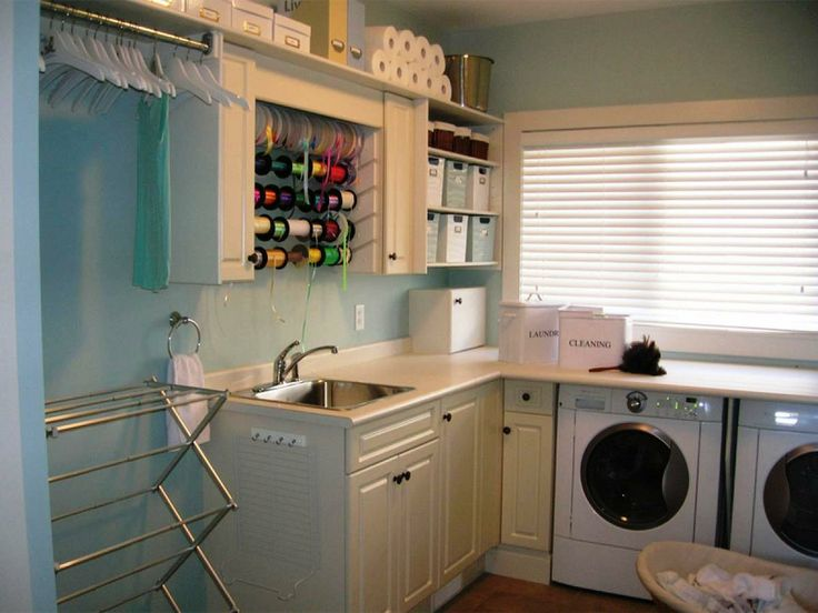 45 best images about laundry room on pinterest house design beautiful and washer and dryer. Black Bedroom Furniture Sets. Home Design Ideas