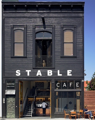Stable Cafe, San Francisco, CA always wanted to ride a horse to a place like this lol