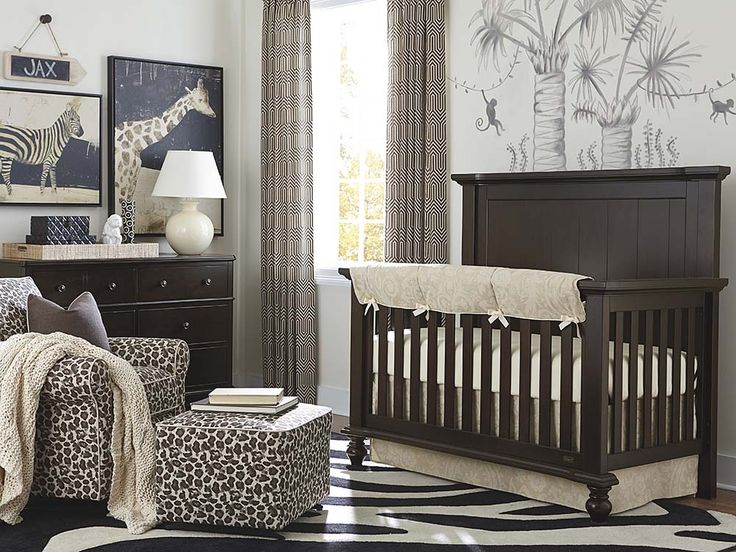 Bassett Furniture   Wakefield Molasses Crib