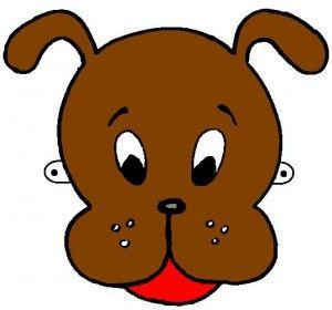 Маска собаки своими руками. Делаем  с детьми маску собаки. Маска Собаки.