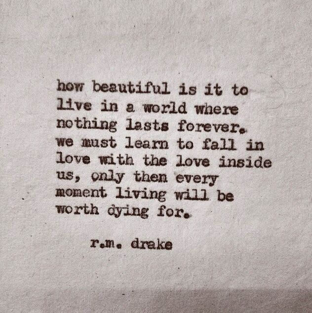 Quotes About Love Rm Drake : ... photo r m drake quotes inspiration rm drake love quotes love in