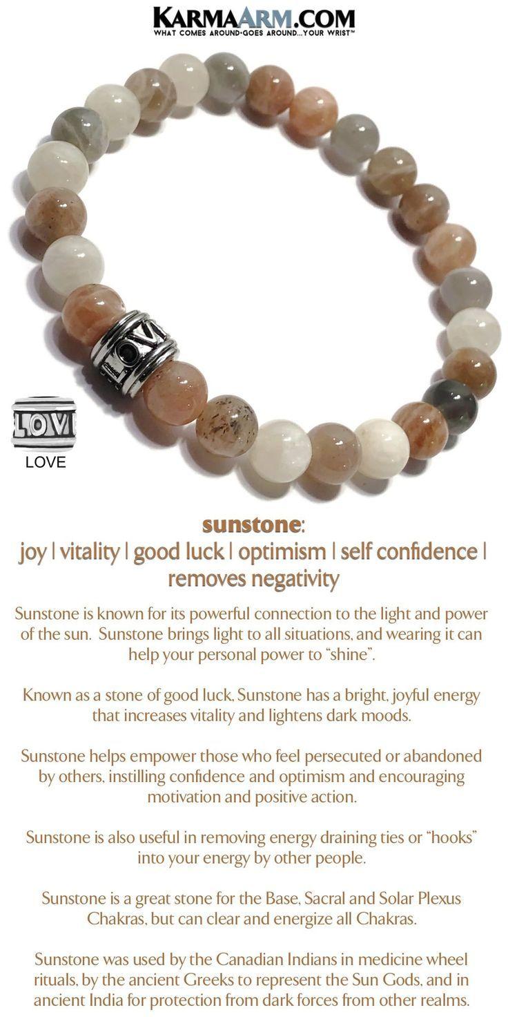 Intimacy Sunstone Love Bead Yoga Chakra Meditation Wristband Bracelet Beaded Bracelets Yoga Jewelry Chakra Bracelet
