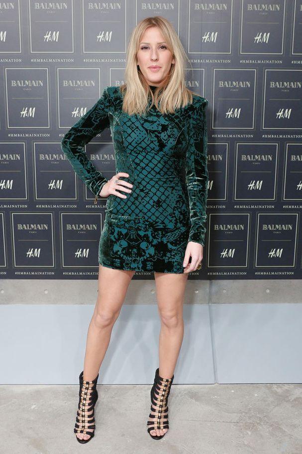 Ellie Goulding à la soirée de lancement Balmain X H&M à New York
