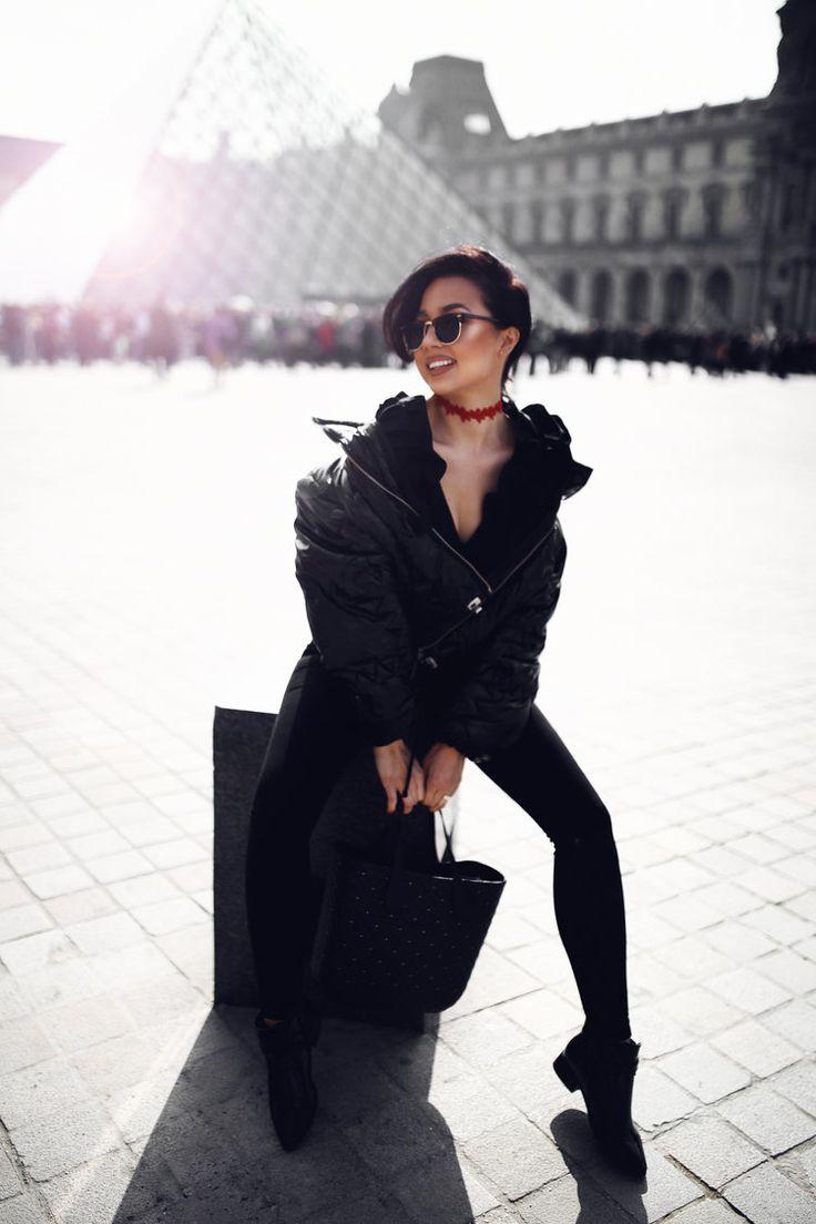 Diana Rogo in Paris.