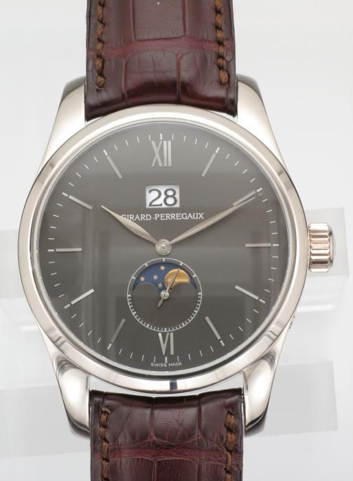 White Gold Girard-Perregaux Classic Elegance Large Date - Attenborough Pawnbrokers & Jewellers