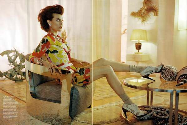Vogue UK June 2010 Far From Heaven Shoot