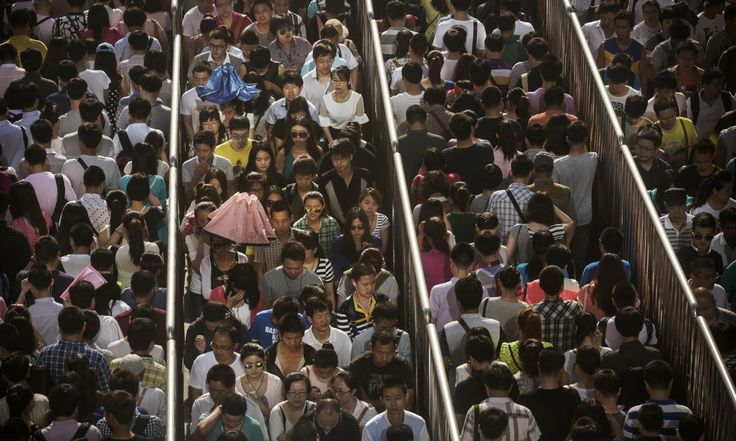Riding Beijing's subway end to end: 88km of queues and crushes on a 20p ticket | Cities | The Guardian