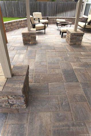76 Stunning Backyard Patio Ideas Pavers Walkways 08