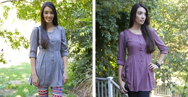 Rosalie Tunic - 5 Colors Available!