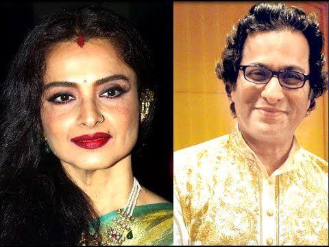 Rekha to Romance With Ghazal singer Talat Aziz