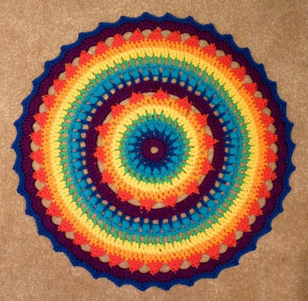 20 Best Crochet Circle Patterns: Mandalas, Doilies, Coasters, Cushions and More