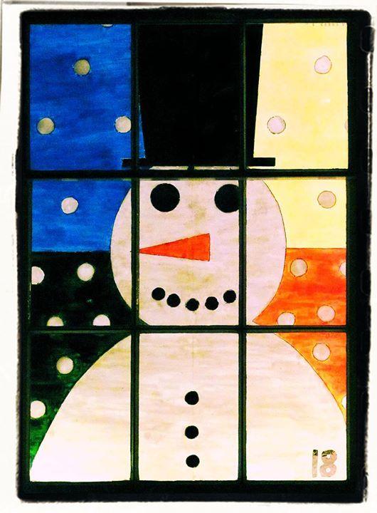 Living Advent Calendar Ideas : Saltaire living advent windows snowman