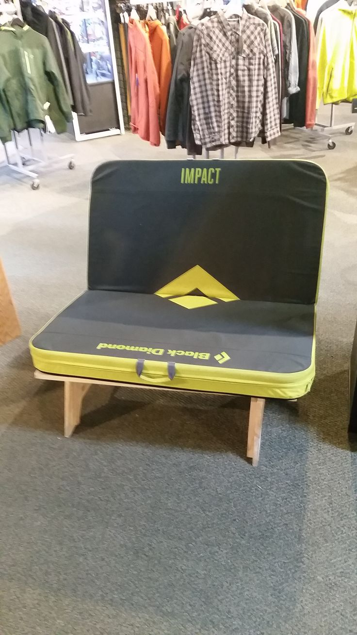 use my climbing crash pad and make a seat ABQ Store in