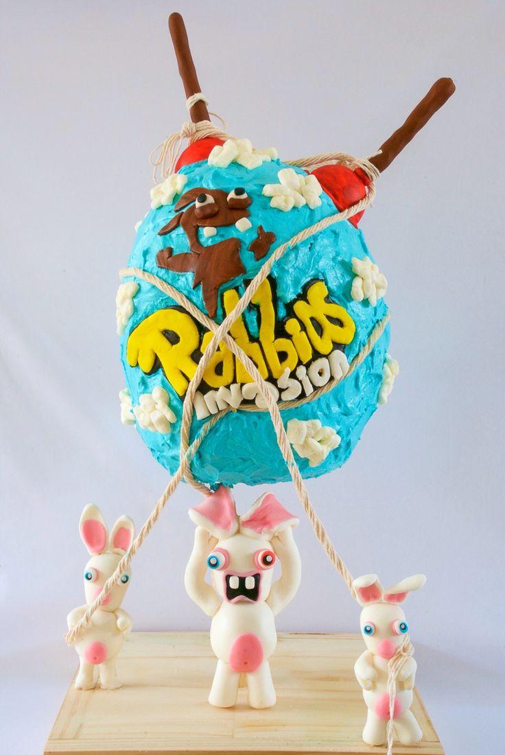 Rabbids invasions birthday cake.