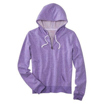 Xhilaration Juniors French Terry Hoodie - looks snuggly!: Assort Colors