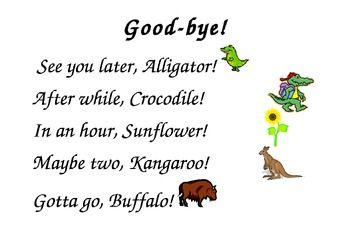 Saying Goodbye Clip Art   Saying Goodbye Clip Art   Hello & Goodbye ...