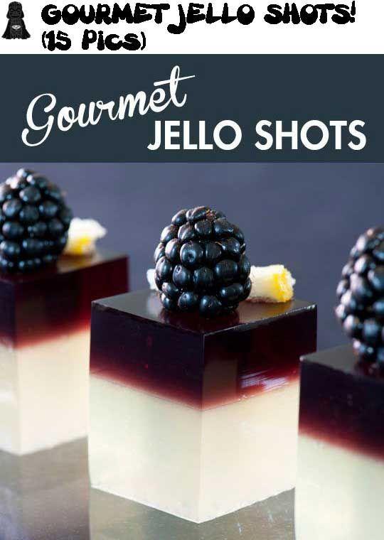 yuummmy! GOURMET JELLO SHOTS (15 Pics)!